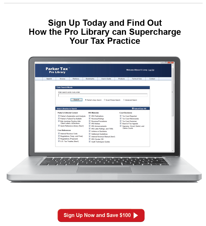 Expert Tax Analysts and IRS Guidance