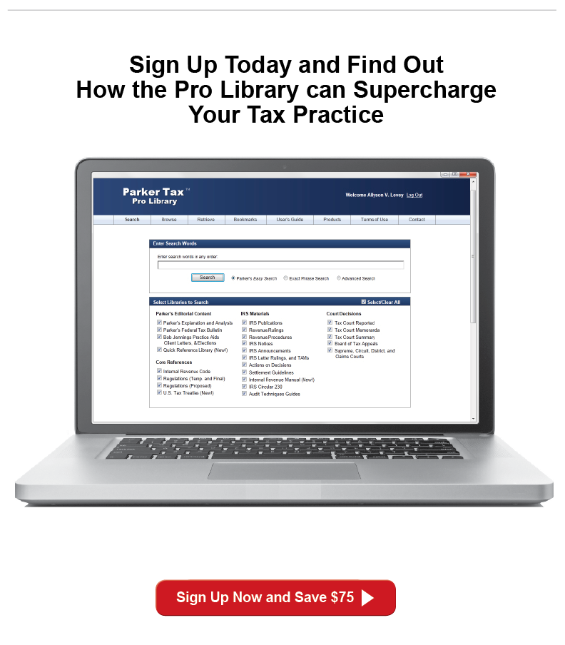 Sign up and save on affordable professional tax research online software